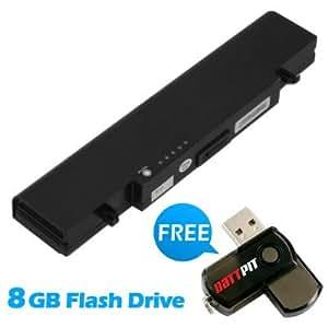 Battpit Bateria de repuesto para portátiles Samsung P500-RA01 (4400 mah) Con memoria USB de 8GB GRATUITA