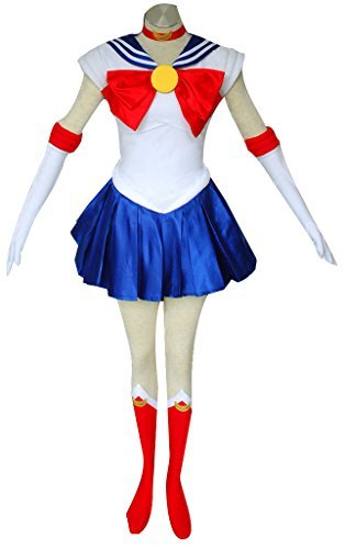 [Dazcos Sailor Moon Tsukino Usagi Kids Cosplay Costume (Child S)] (Costumes Shoes For Kids)