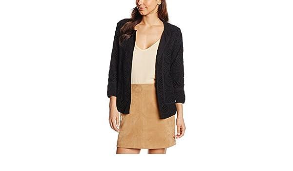 Pedro del Hierro, GUIPUR Jacket - Chaqueta para Mujer, Color Black, Talla L: Amazon.es: Ropa y accesorios