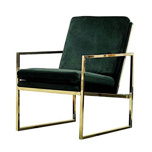 Amazon Com Mr Do Velvet Armchair Dark Green Single Lounge