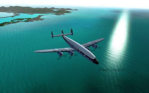Flight Simulator 2019 X DELUXE Edition Flight Sim FlightGear 6 Disc