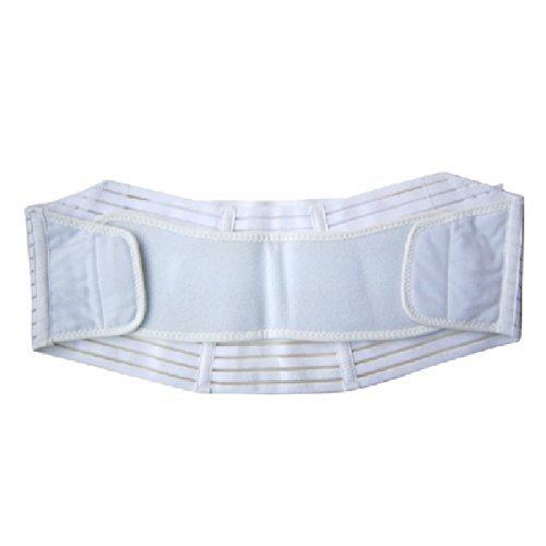TechnoTec® faja de maternidad faja para maternidad y hacia adelante y atrás de espuma hinchable ayuda correa de transmisión en forma de color blanco - diferentes de los tamaños de mate y brillo, rollo