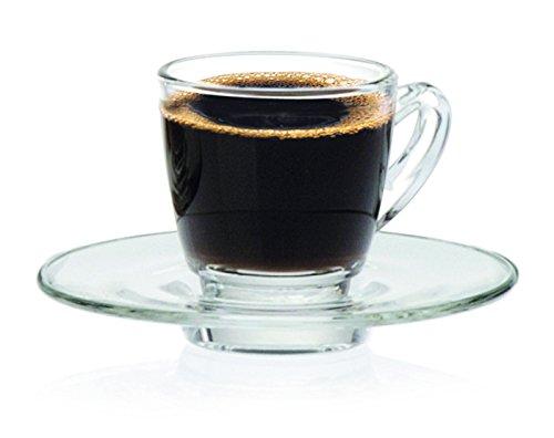 Ocean lkenyaespressoカップセット、70 ml、6のセット B00NMGFECI