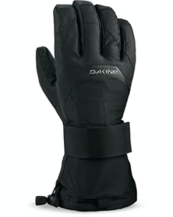 Amazon.com : DAKINE Nova Glove w/ Wrist Guard Black, XS