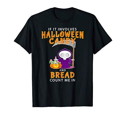 Halloween Bread Lover T-shirt Funny Last Minute Baker Gift -