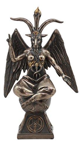 abbatic Goat Baphomet Statue 9.25