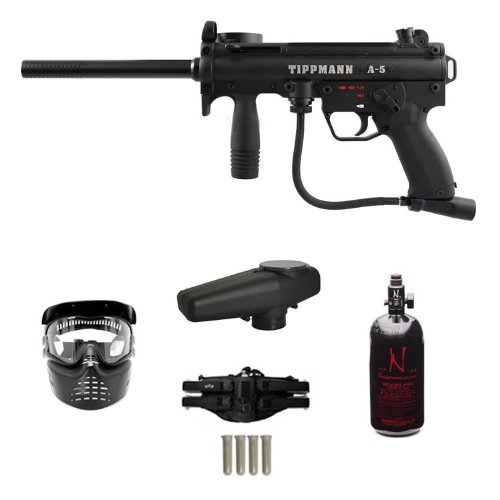 TIPPMANN A5 A-5 eGrip Paintball Gun Empire HPA N2 Extreme Package by Tippmann