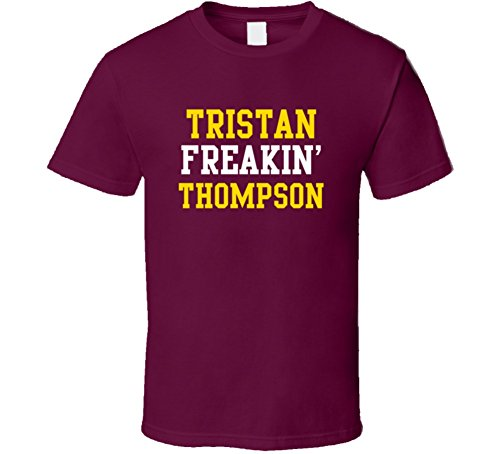 Tristan Thompson Freakin Favorite Cleveland Basketball Player Fan T Shirt M Burgundy