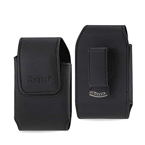 Reiko Wireless Vertical Pouch BlackBerry 8330 Black 4.3