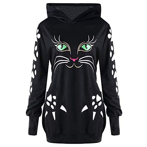 Clearance Pullover Cat Ear Hoodie Sweaters Blouse Hooded Tops Girls AfterSo -