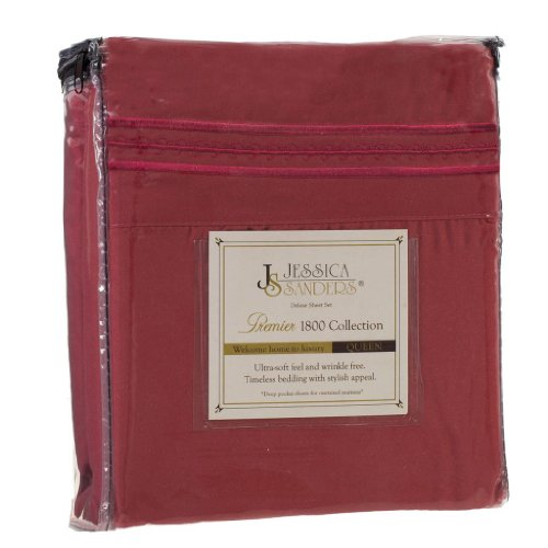Jessica Sanders Premier 1800 Series 3pc Bed Sheet Set- Tw...