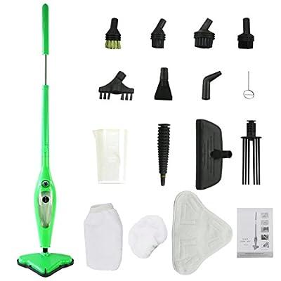 MissyeeDirect Steam Mop X12 Steam Cleaner for Floor Carpet Window Clothes Kitchen Bathroom