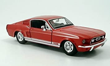 Ford Mustang Gt 1967 Model Car Ready Made Maisto 1 24 Spielzeug