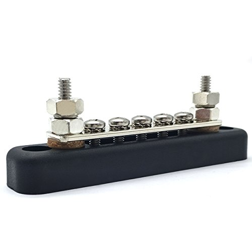 IZTOSS 100A Common Line Buss Bar Terminal power and ground Junction distribution Block by IZTOSS (Image #2)