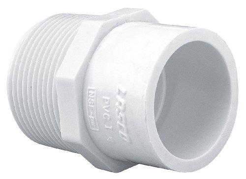 LASCO FITTINGS INC 436-213 1-1/2'x2' RED MALE ADAPTER
