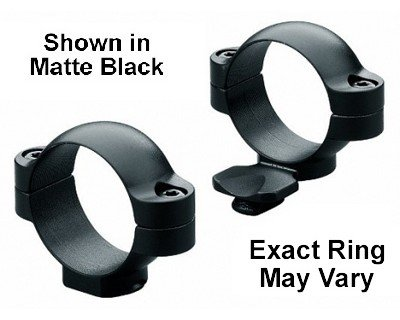Leupold STD 1-in Low Ext, Gloss - Extension Rings Low Gloss