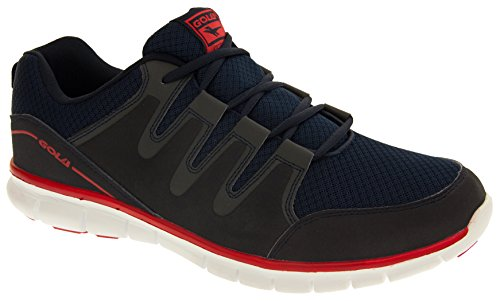 Red and Gola Flexible Blue Termas Active Shoes Mens Lightweight Running Navy 2 vOrPvAq