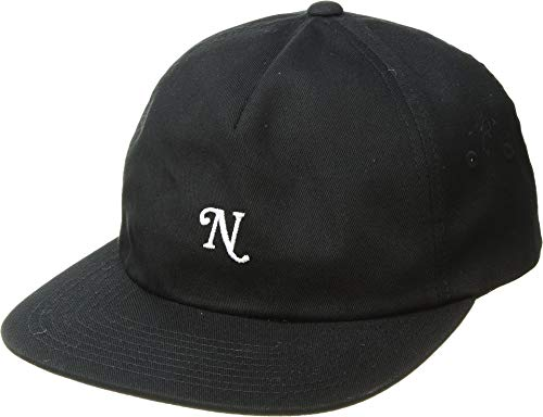 NIXON Men's Yorker Snapback Hat Black One Size - Nixon Black Hat