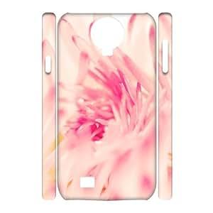 3D [Sunny Daisy] Spring Daisy Flower Case for Samsung Galaxy S4, Samsung Galaxy S4 Case Cool Cute for Girls {White}