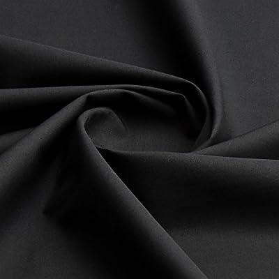 Tejido liso en 100 % algodón, 150 cm de ancho por metro, algodón ...