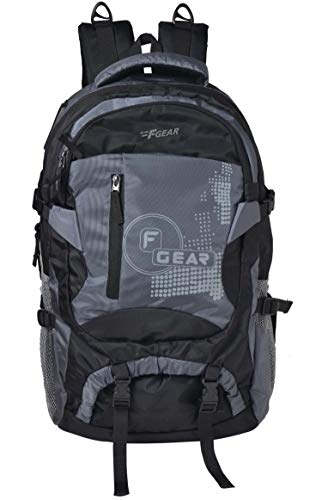 F Gear Orion 46 Ltrs Grey, Black Rucksack Price & Reviews