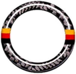 f/ür Mercedes Benz C Klasse W204 200 260 300 2011 2014 Gnnlor Z/ündschl/üssel Kreis Dekoration Abdeckleiste Carbon Autozubeh/ör