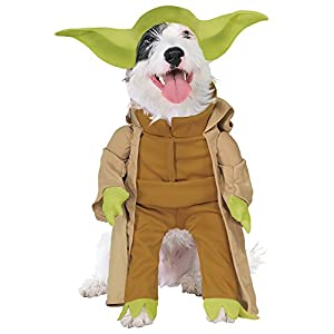Rubie's Costume Star Wars Collection Pet Costume, Yoda with Plush Arms, Small