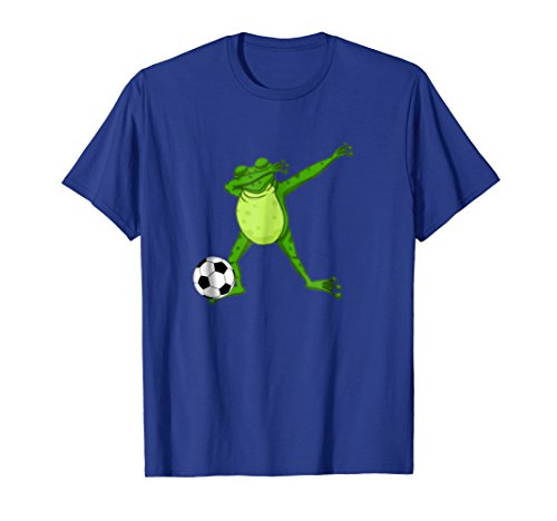 Dabbing Frog Soccer Shirt Cute Froggy Crazy Dab Player ()