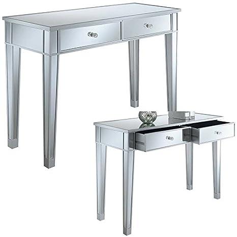 Amazon.com: Easy&FunDeals - Mesa de consola con espejo y ...