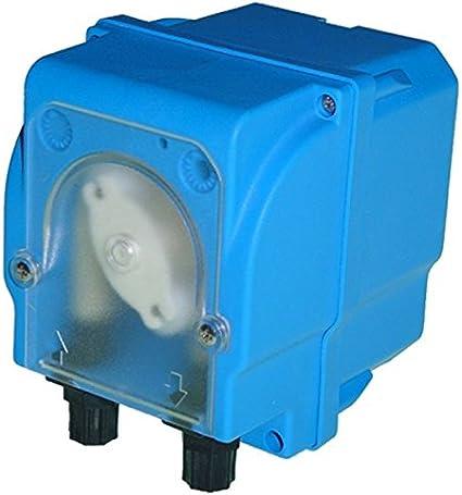 Bomba dosificadora peristáltica con alcance fija para dosificación líquidos Modelo mp2-b–12l/h 24VDC, Tubo membrana Santoprene