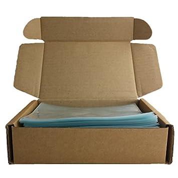 Amazon.com: 500 bolsas de papel de alta calidad sin olor ...