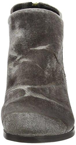Botas Apisi de gris mujer gris terciopelo Hudson gris O81wqw