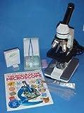 400x Student Microscope Homeschool Set w Slides Book etc. Value
