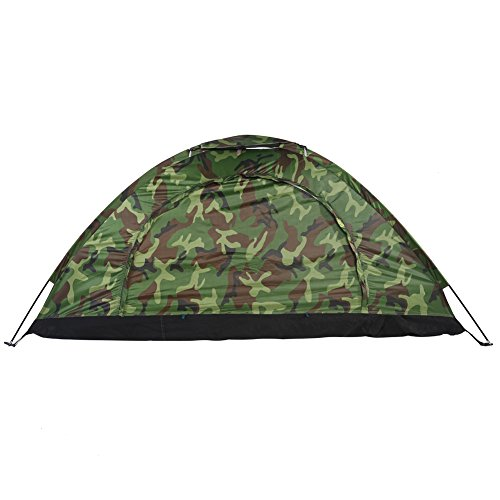 81851be6f5 1-4 Person Camping Tent Camouflage Dome Tent , Waterproof ...