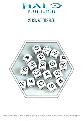 Halo: Fleet Battles Combat Dice Blister HFEX01 (24 Dice Pack) from Spartan Games