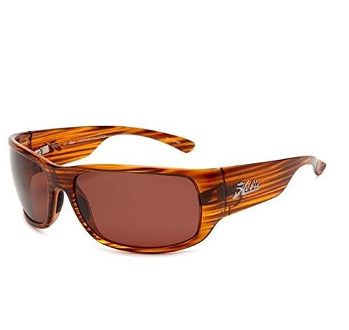 Hobie Bayside Polarized Sunglasses,Brown Wood Grain Frame/Copper Lens,one - Amazon Hobie Sunglasses
