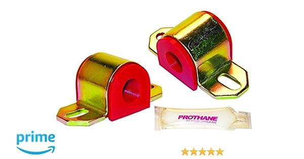 Prothane 19-1108 Red 7//8 Universal Sway Bar Bushing fits A Style Bracket