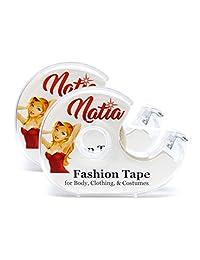 NATIA Double-sided Transparent Flash Fashion Lingerie Tape (2-pack)