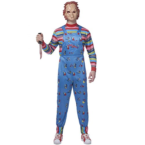 Chucky Costume For Adults (Mens Chucky Costume - XL)