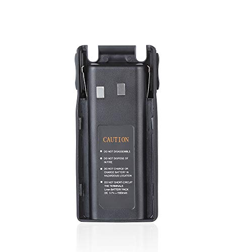 SAMCOM FPEN10A Two Way Radio Rechargeable Replacement Battery,1500mAh Capacity