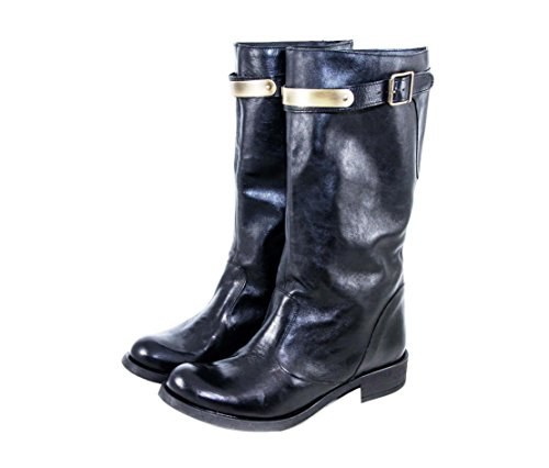 Boots Women's Silfer black black Shoes E5EOxqBwS