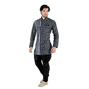 Looks Men's Linen Kurta Pyjama