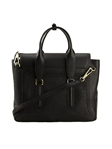 1 AC000179SKCBLACK Handbag Lim Black 3 Women's Leather Phillip AwpOdpfqx