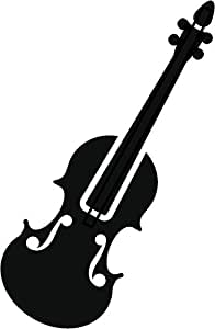 Amazon.com: Simple Clipart Musical Instrument Silhouette ...