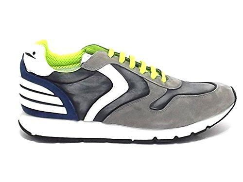 Voile Blanche Scarpa Uomo Liam 9145 Sneaker camoscio Grigio E8102