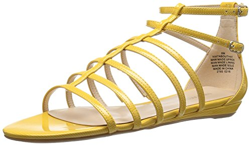 Synthetic EU Sandal West Dress UK M Synthetic 39 Aboutthat Yellow Nine Women'S B 7 M B PXpnXx
