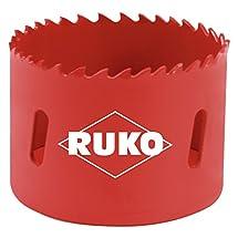 "RUKO 106133 High Speed Steel Bi-Metal Hole Saw, 5-1/4"""