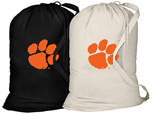 Broad Bay Clemson Laundry Bag -2 Pc Set- Clemson Tigers Clothes Bags