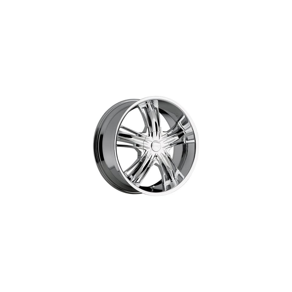 Incubus Banshee 20x9 Chrome Wheel / Rim 6x135 with a 35mm Offset and a 87.00 Hub Bore. Partnumber 509290653+35C