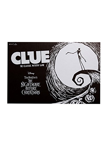Disney The Nightmare Before Christmas Clue: The Classic Mystery Game Exclusive 2016